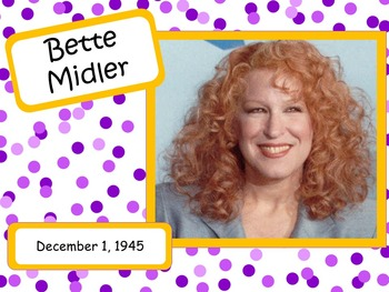 Bette Midler: Musician in the Spotlight