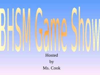 Better Hearing Speech Month Game Show game