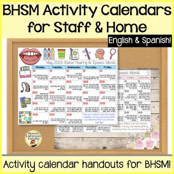 Better Hearing and Speech Month: Activity Calendar for Tea