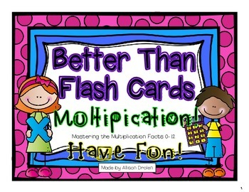 Better Than Flash Cards Multiplication!  (For Interactive