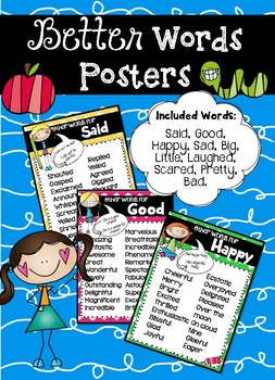 Better Words Posters