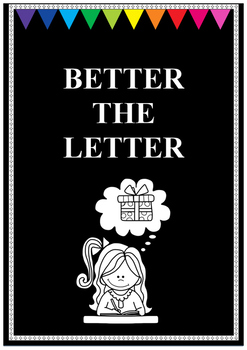 Better the Letter Word Game