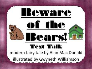 Beware of the Bears Text Talk Supplemental Materials
