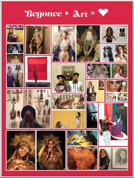 Beyoncé and Art History Poster