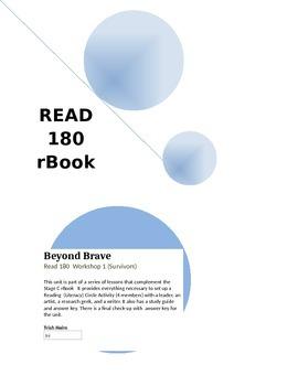 Beyond Brave - Read 180 rBook  (Workshop 1) English 1 Supplement