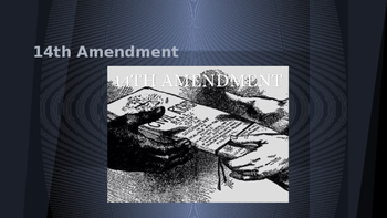 Beyond the Bill of Rights: The Fourteenth Amendment and Equality