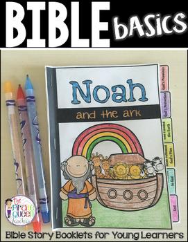 Bible Basics: Noah and the Ark Story Flip Book