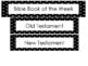 Bible Book of the Week Bulletin Board Set Preschool-Kinder