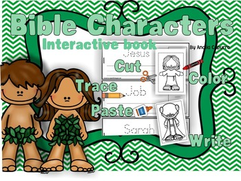 Bible Characters interactive books