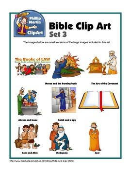 Bible Clip Art Set 3