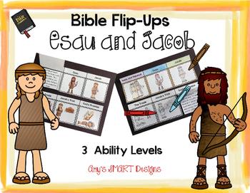 Bible Flip-Ups: Esau and Jacob