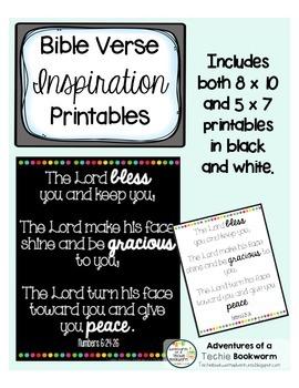 Bible Inspiration Printables