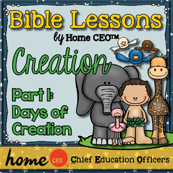 Bible: Days of Creation (Lesson #1)