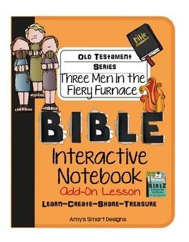 Bible Interactive Notebook: Old Testament Add-On Three Men