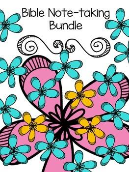 Bible Note-taking Bundle