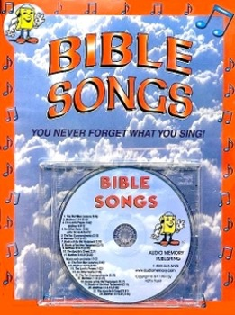 Bible Songs CD Kit by Kathy Troxel (CD and Book) from Audi