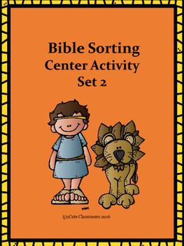 Bible Sorting Center Activity Set 2