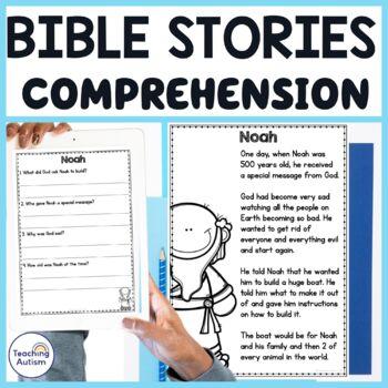 Bible Stories Comprehension