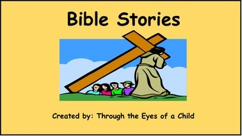 Bible Stories Listening Center with QR Codes