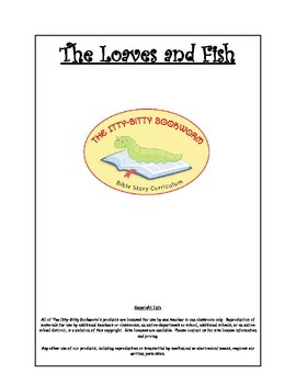 Bible Story Mini-Unit:  The Loaves and Fish