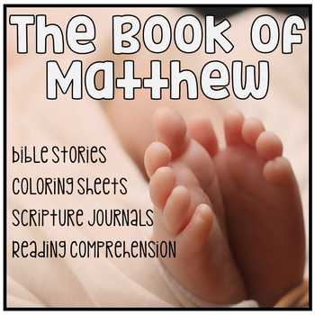 Bible Studies: The Book of Matthew Part One Reading Compre