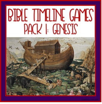 Bible Timeline Games and Three Part Cards Pack 1