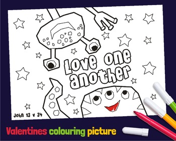 Bible Valentines day coloring pictures