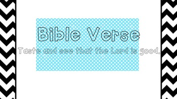 Bible Verse Classroom Display
