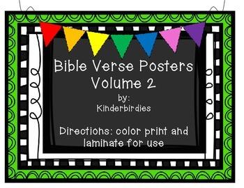 Bible Verse Posters - Volume 2