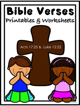Bible and Scripture, Memory Verse activities     ACTS 17:2