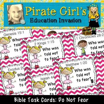 Bible Task Cards: Do Not FEAR