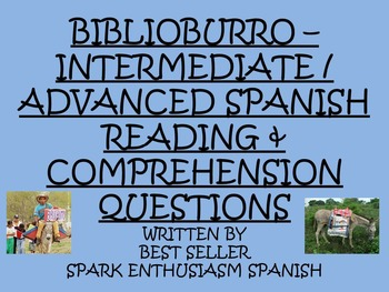 Biblioburro - Intermediate/Advance Spanish Reading and Com