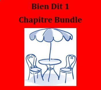 Bien Dit 1 Chapitre 9 Bundle