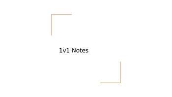 Bien Dit 1v1 Notes Powerpoint