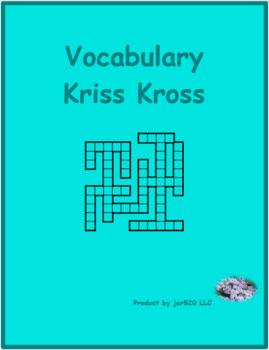 Bien Dit 2 Chapitre 3 Vocabulaire Kriss Kross puzzle