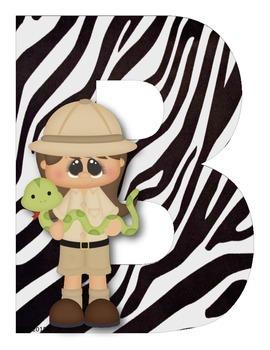 Bienvenidos Motivo Safari