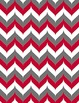 """Big 10 Conference Chevron Backgrounds 12-Pack (8.5"""" x 11"""")"""