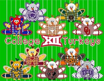 Big 12 * Football Turkeys * College
