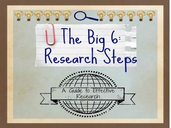 Big 6 Research Skills