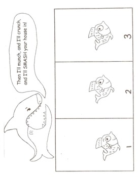 Big Bad Shark Sequencing Activity