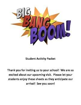 Big Bang Boom Band Activity Pages