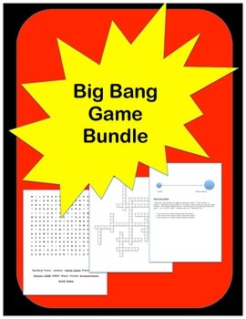 Big Bang Theory Game Bundle: Crossword, Word Search, Math