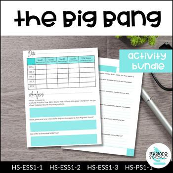 Big Bang Theory UNIT - NGSS Aligned, 5E Based, Student-Cen
