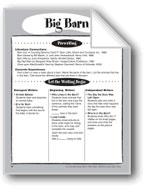 Big Barn Shape Book