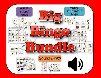 Big Bingo Bundle - 3 sound bingo games
