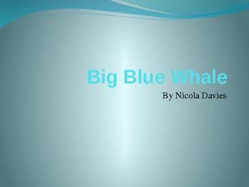 Big Blue Whale Vocabulary