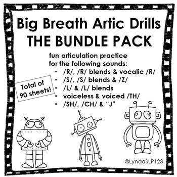 Big Breath Artic Drills BUNDLE #2