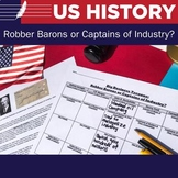 Big Business Tycoons: Robber Barons or Captains of Industr