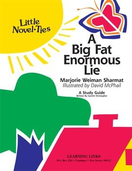 Big Fat Enormous Lie - Little Novel-Ties Study Guide