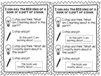 Big Idea Non-fiction Bookmark